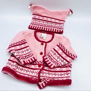 Hanna Andersson Sweater & Cap